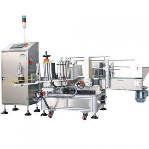 Lineer Düz Düzlem Yapışkanlı Etiketleme Makinesi