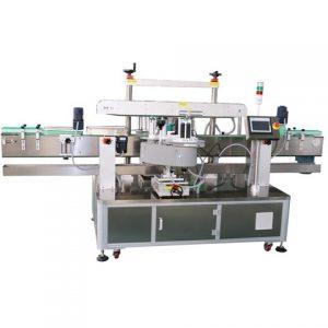 Steril Sıvı Cam Şişe Çift Taraflı Etiketleme Makinası
