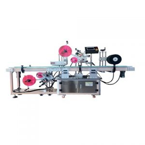 Plastik Kare Etiketleme Makinası