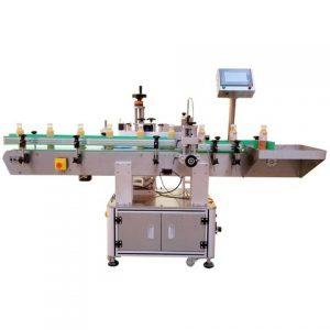 Yuvarlak Şişelerde Kullanılan Kağıt Etiket Etiketleme Makinesi