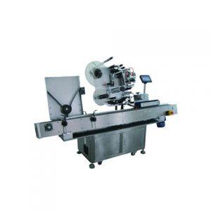 Çift Taraflı Otomatik Yuvarlak Şişe Masaüstü Etiketleme Makinesi