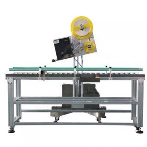 Yuvarlak Şişe Otomatik Yapışkanlı Etiketleme Makinesi