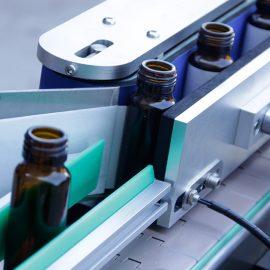 Otomatik Dikey Yuvarlak Şişe Etiket Etiketleme Makinesi Detayları